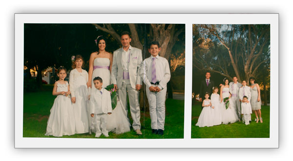 Wedding Albums sample page