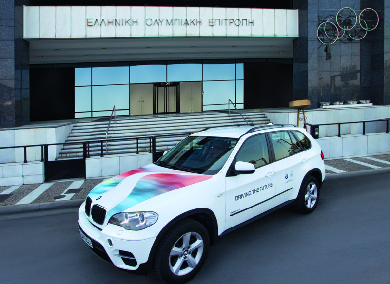 Olympic Torch Relay 2012 | from Olympia to Kalimarmaro with BMW Hellas