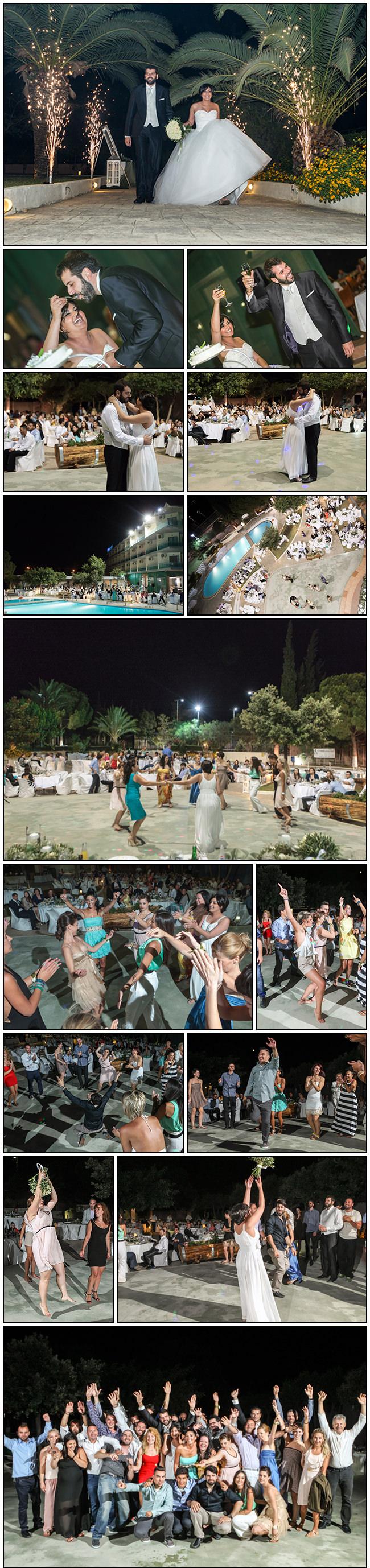 Sofia-Kostas Isthmia wedding - party photos