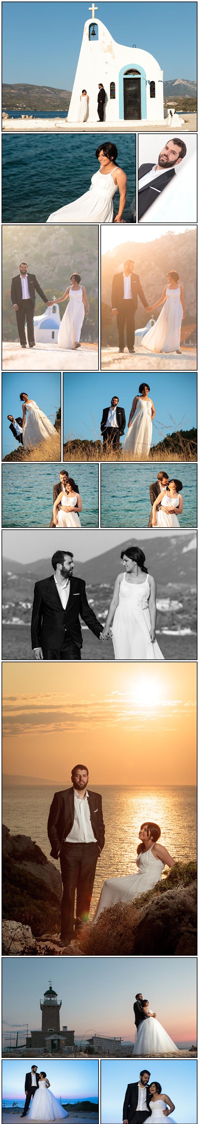 Sofia-Kostas Isthmia wedding - next day photos