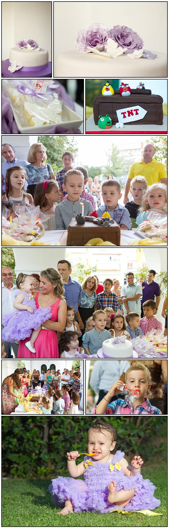 Mirto baptism decorations