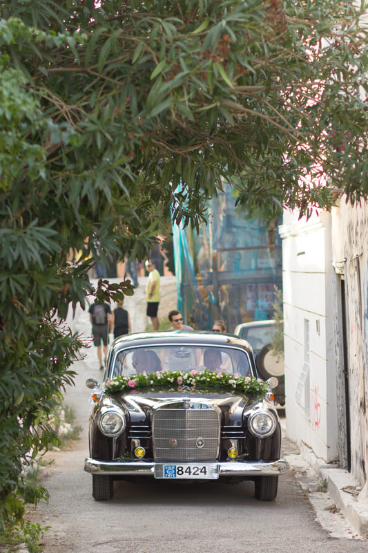 a wedding in Plaka