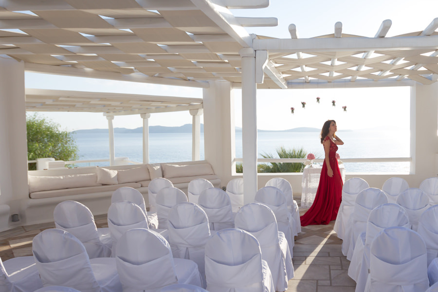 mykonos wedding Reem & Michel