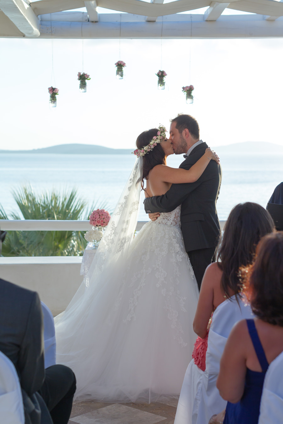 mykonos wedding | Reem & Michel