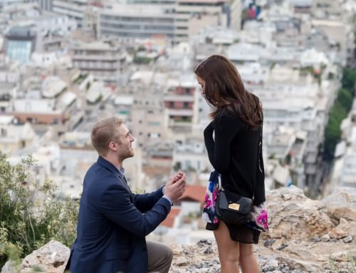 Surprise proposal Athens Greece | Matt & Abby