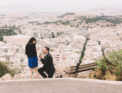 Athens Surprise Proposal | Brian & Akiyo