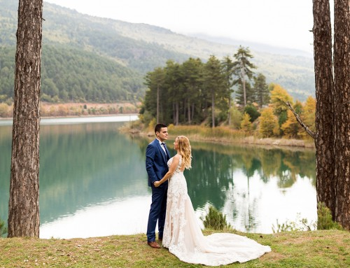 Dimitris + Maria | Lake Doxa photo shoot