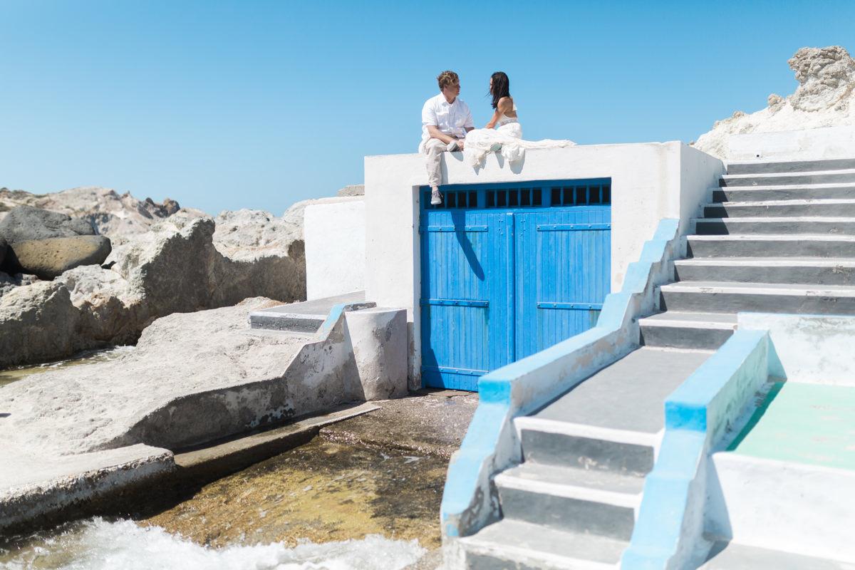 elopement in Milos, Mandrakia