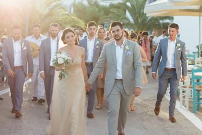 Kythira wedding at Avlemonas