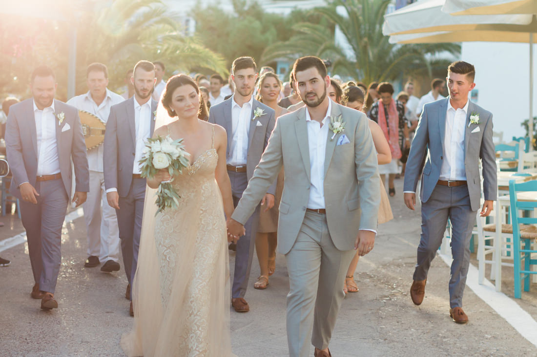 Kythira wedding at Avlemonas