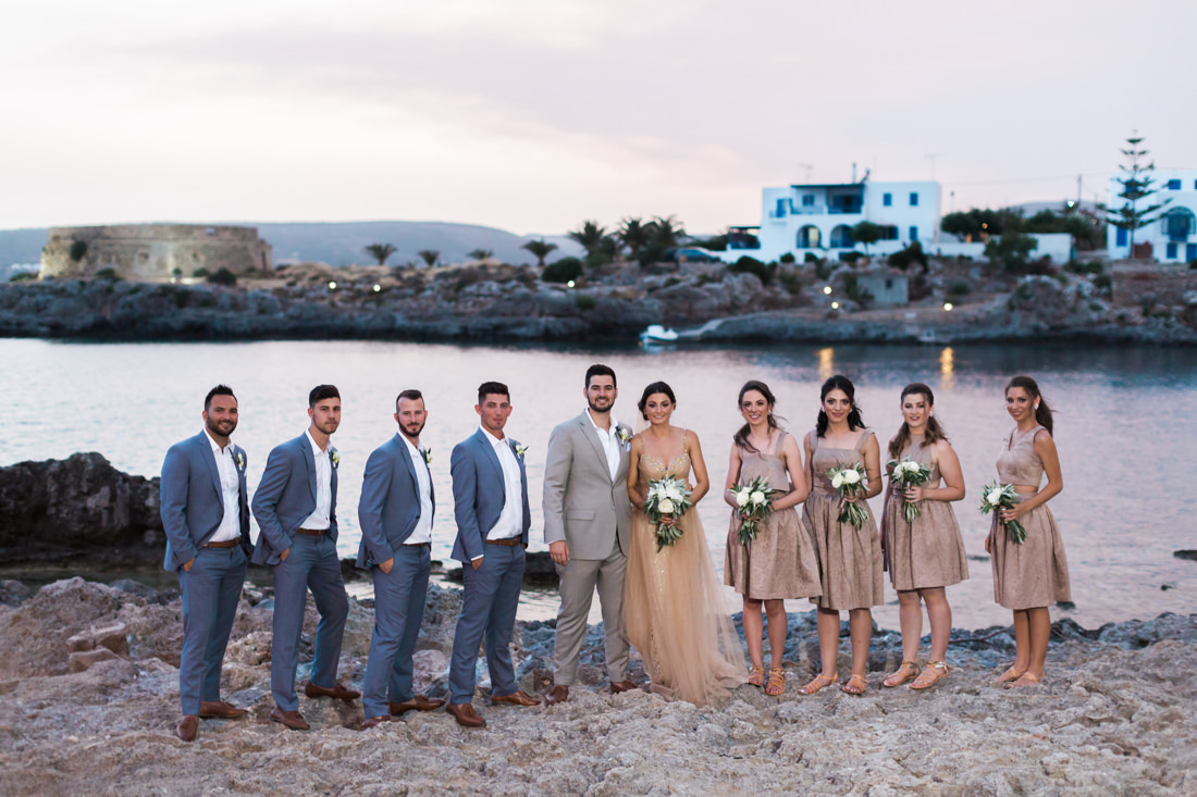 Kythira wedding party at Avlemonas