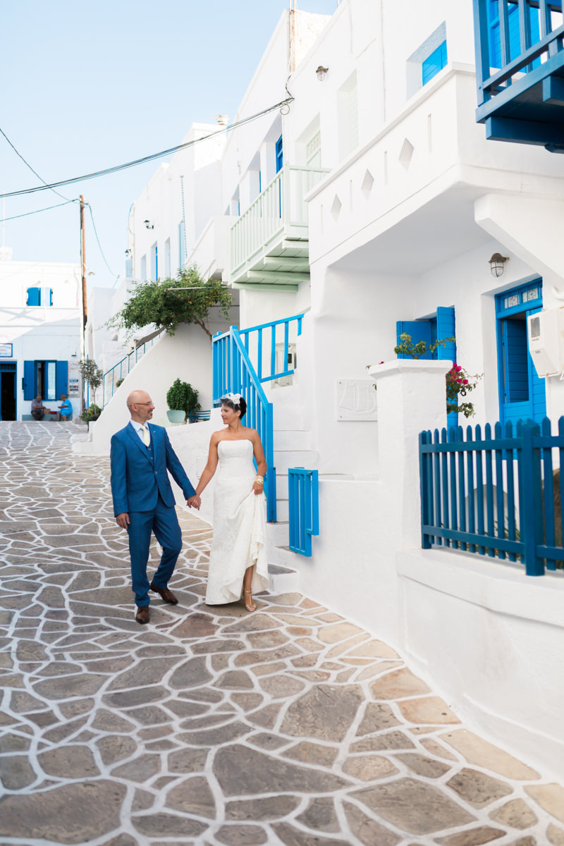 Kimolos island wedding
