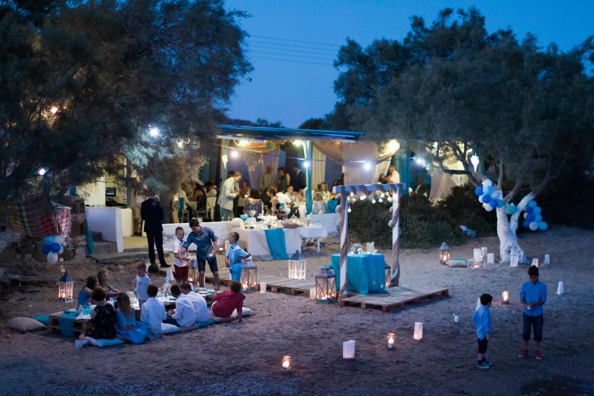 Kalamitsi - Kimolos island wedding