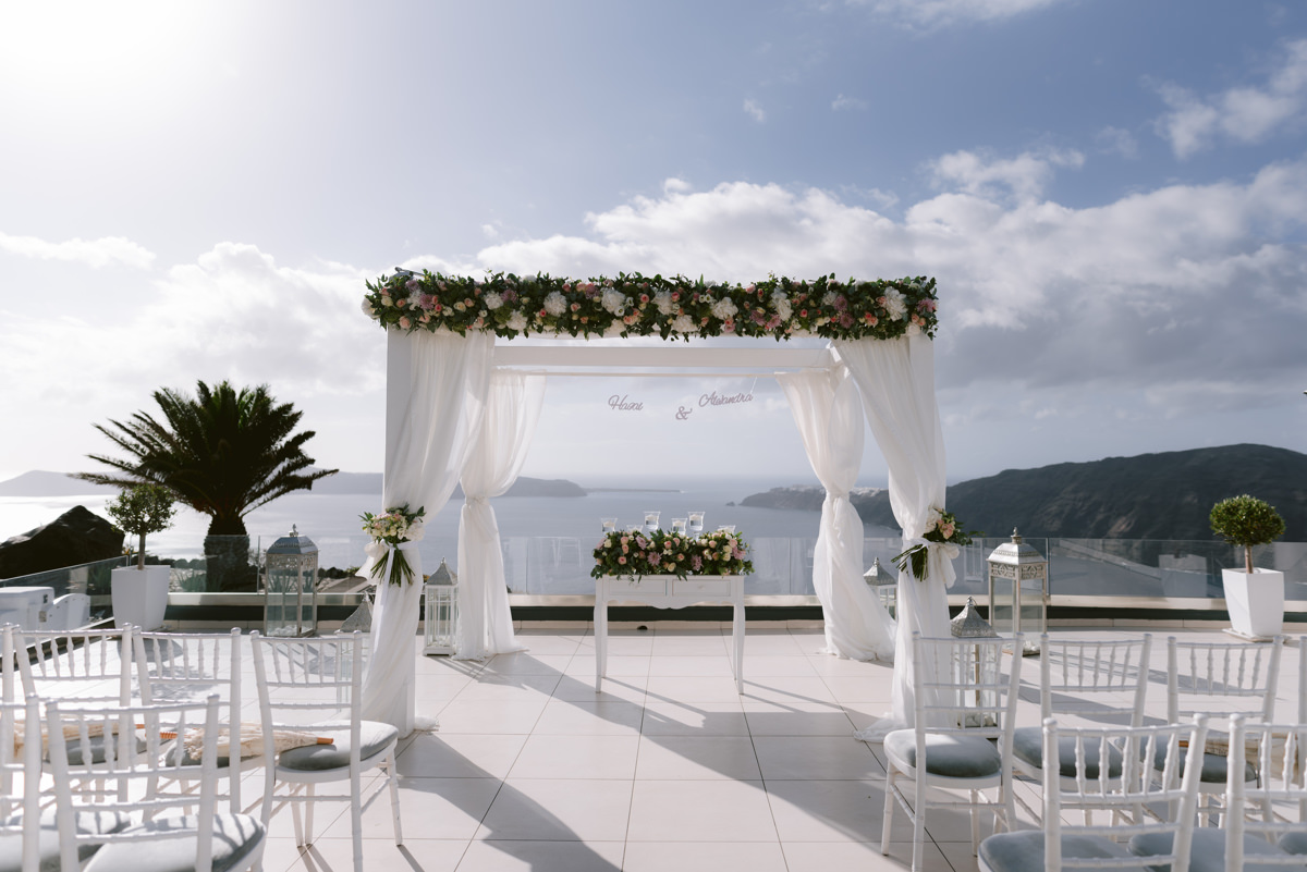 Le Ciel Wedding Venue decoration