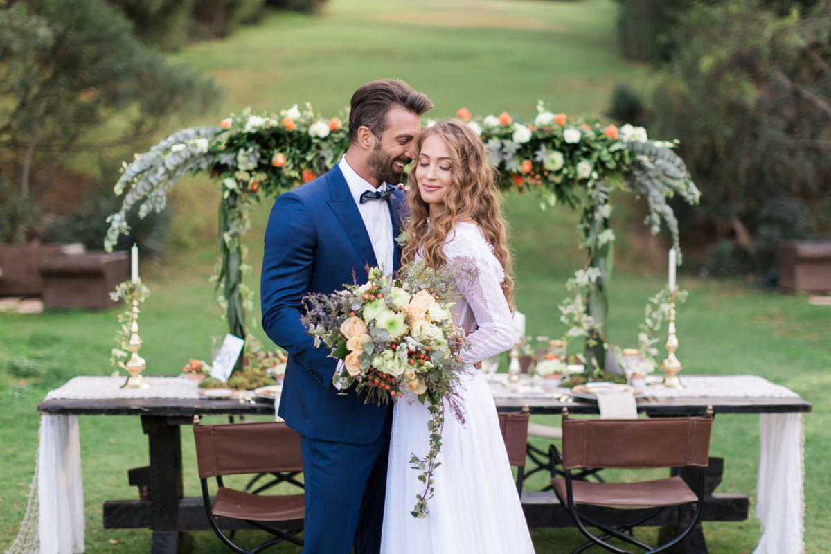 Fairytale Countryside Dream Wedding in Greece