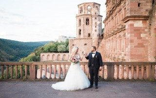 Heidelberg Castle wedding | Heidelberg Wedding Photographer