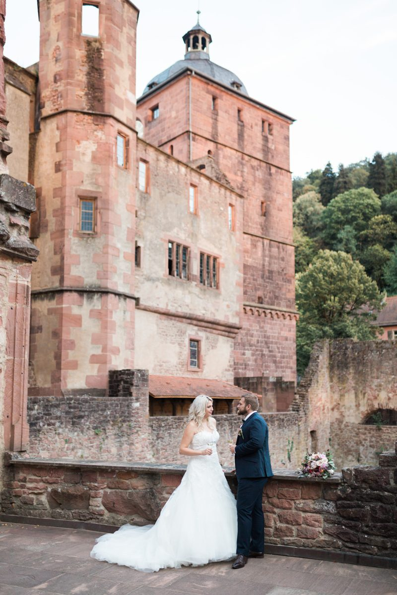 Heidelberg Castle wedding | Heidelberg Wedding Photographer