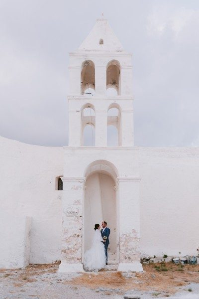 Kythera wedding in the castle of Chora