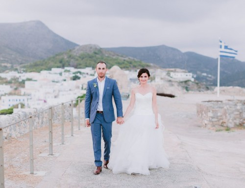 Phillip + Julie | Kythera wedding in the castle