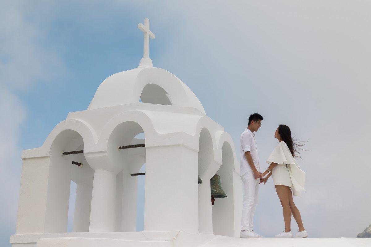 Santorini Surprise Proposal
