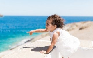 Eleni's baptism in Sifnos island