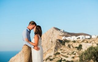 Folegandros wedding elopement