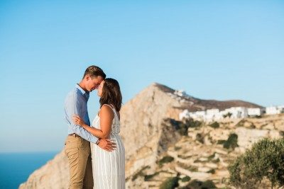 Folegandros wedding elopement