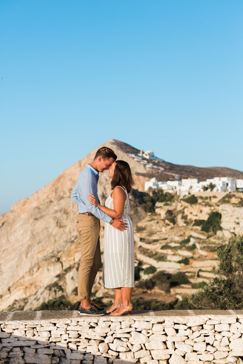 Folegandros exchange of vows
