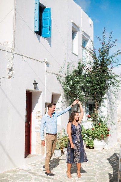 Castle Folegandros couple photo shoot