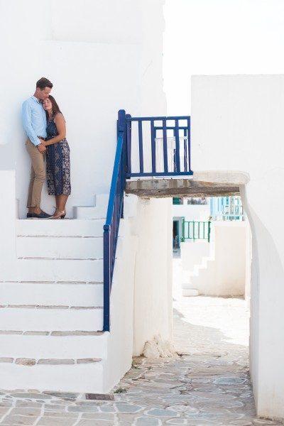Folegandros wedding next day photoshoot