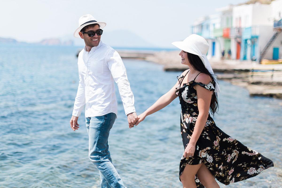 Couple Milos Photoshoot at Klima village