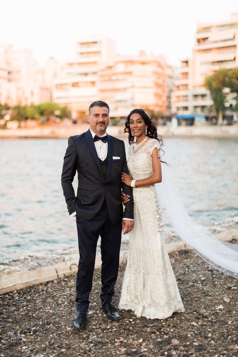Evia wedding couple photo shoot at Chalkida