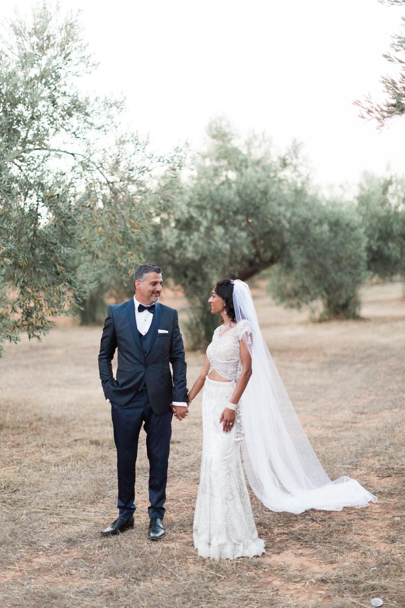 Evia wedding couple photoshoot at olive grove