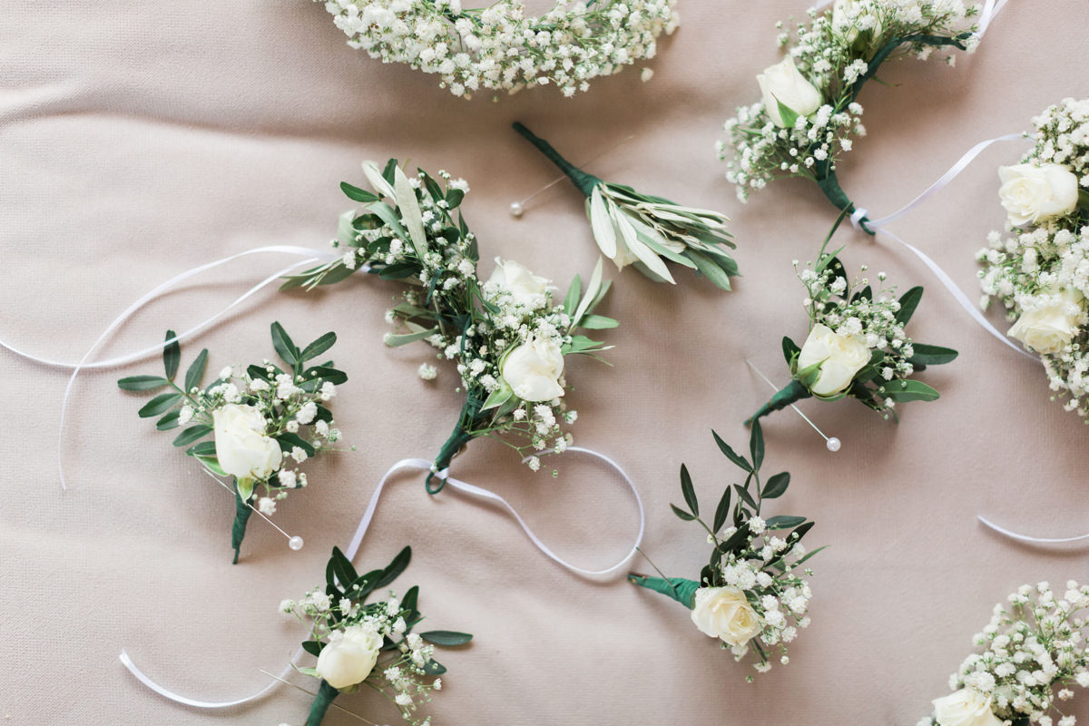 Athens Riviera Island wedding details