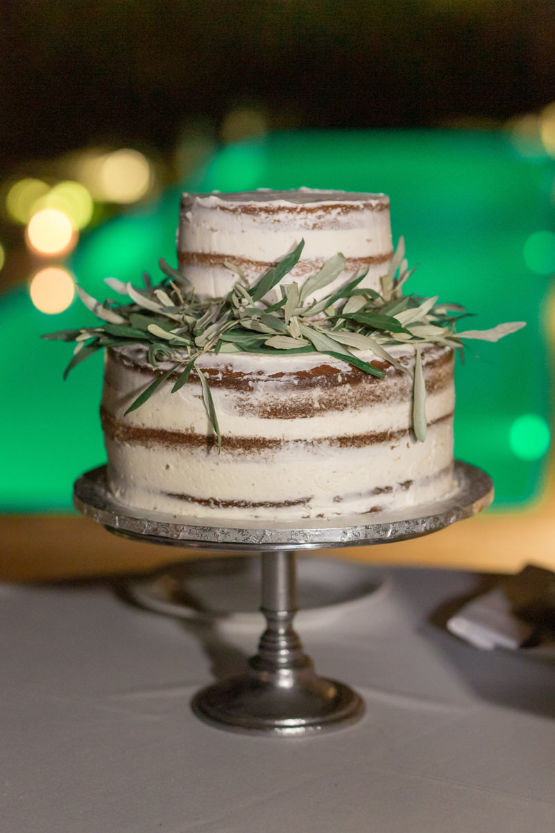 Athens Riviera Island wedding cake